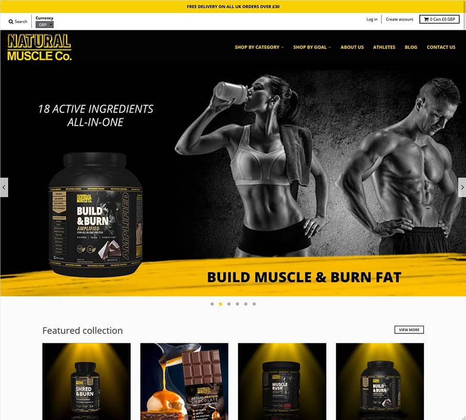 Natural Muscles Company